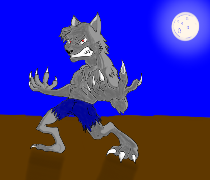 Wolf of the moon
