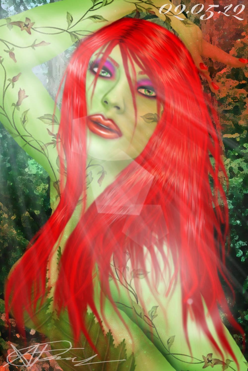 Bridget Blond as Poison Ivy