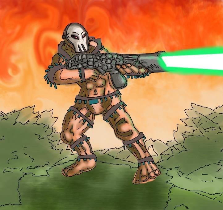 Fire laser