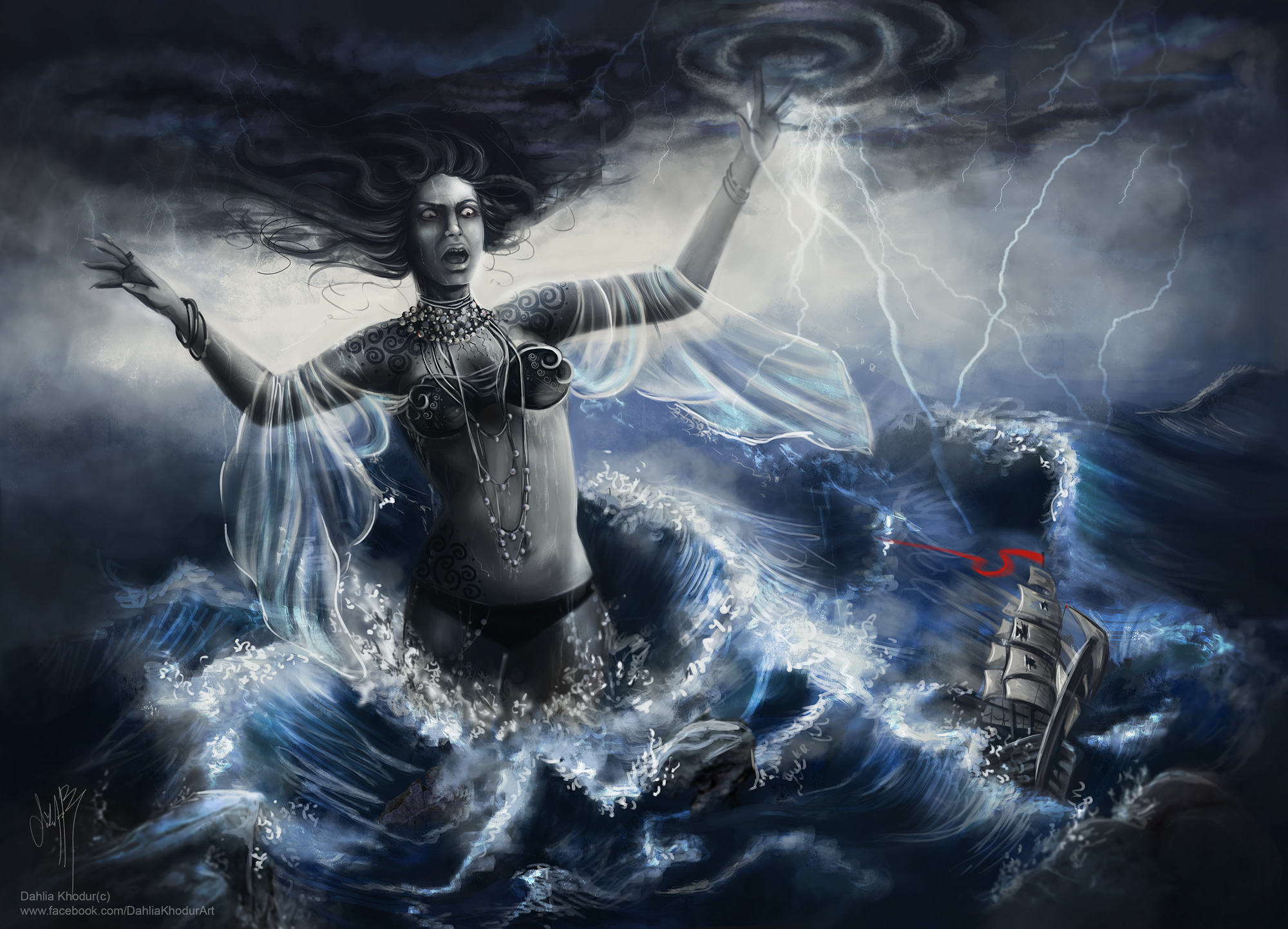 Rage of the Sea Goddess