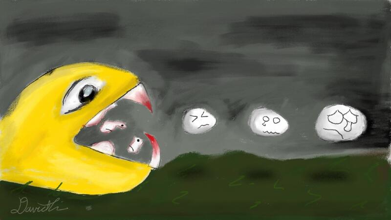 Pacman (I think)
