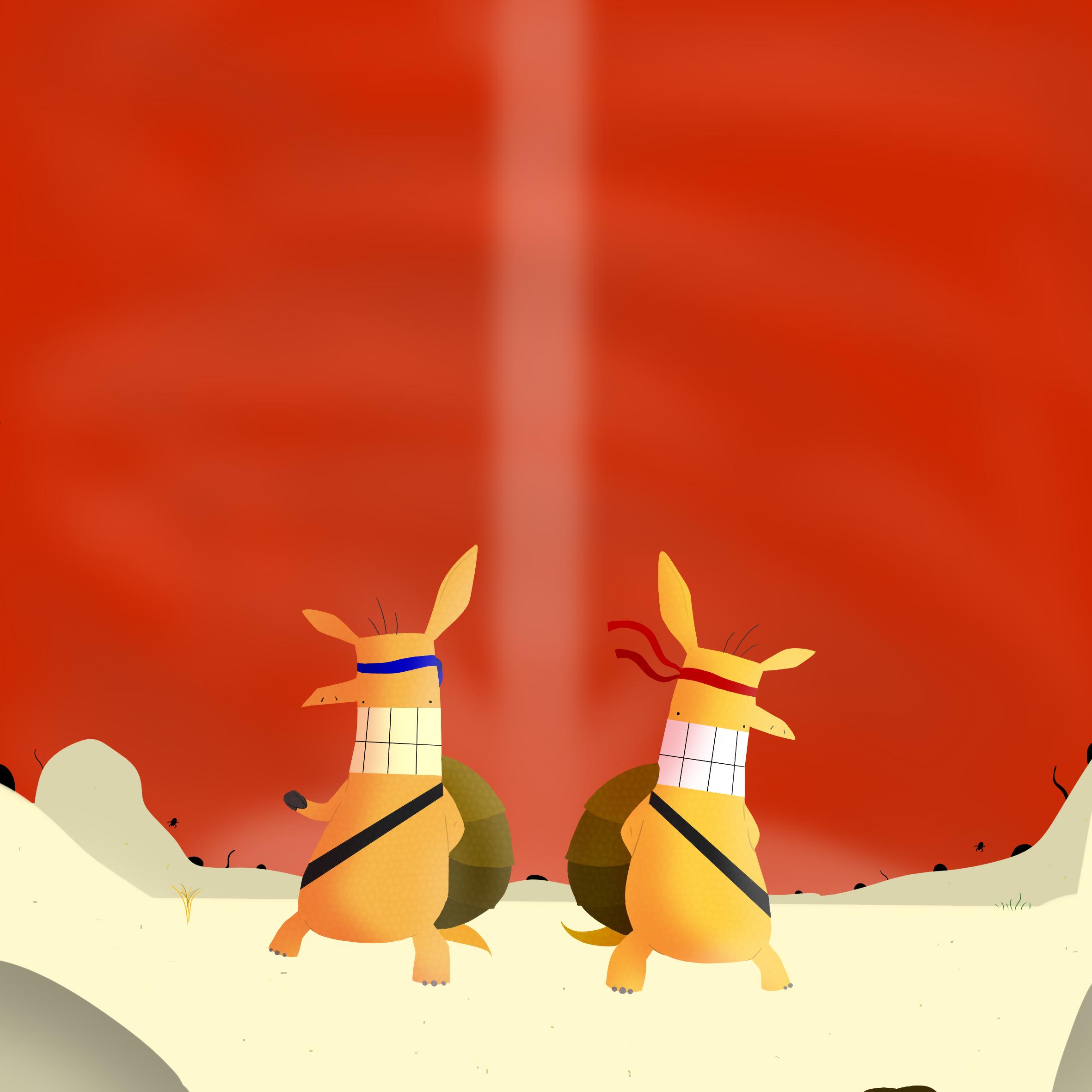 Battle Armadillos