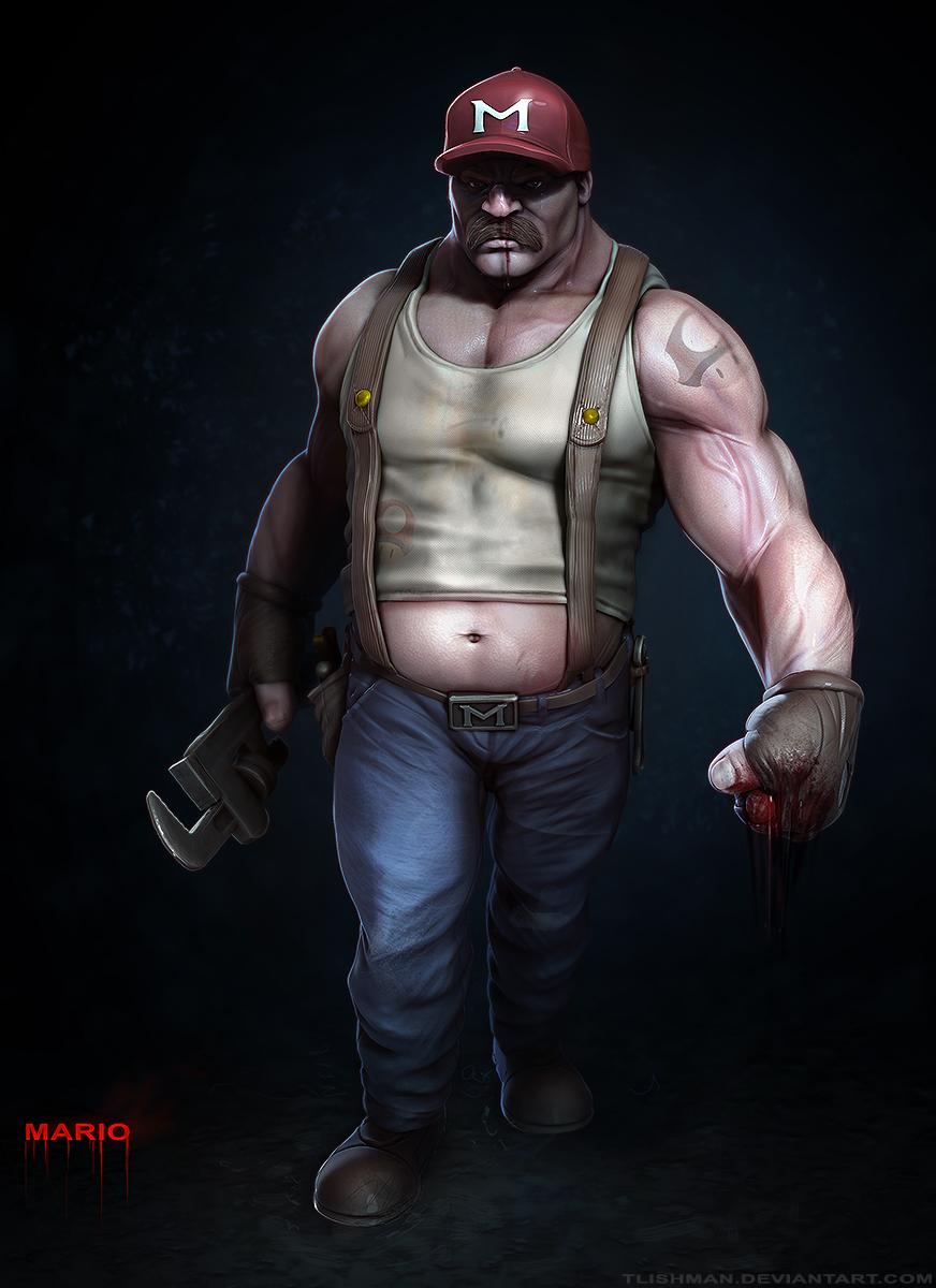 Mario: The Bruiser