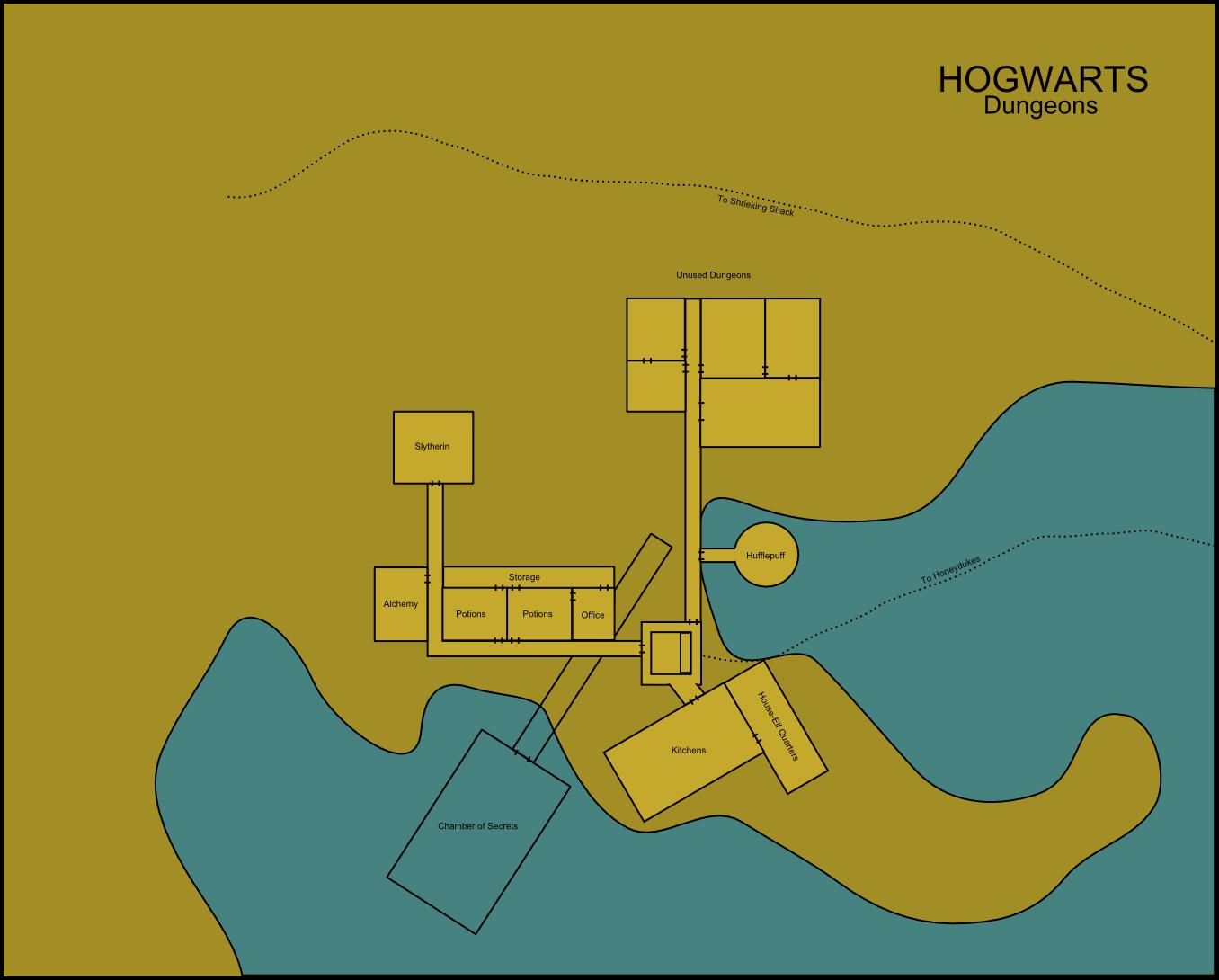 Hogwarts Dungeons