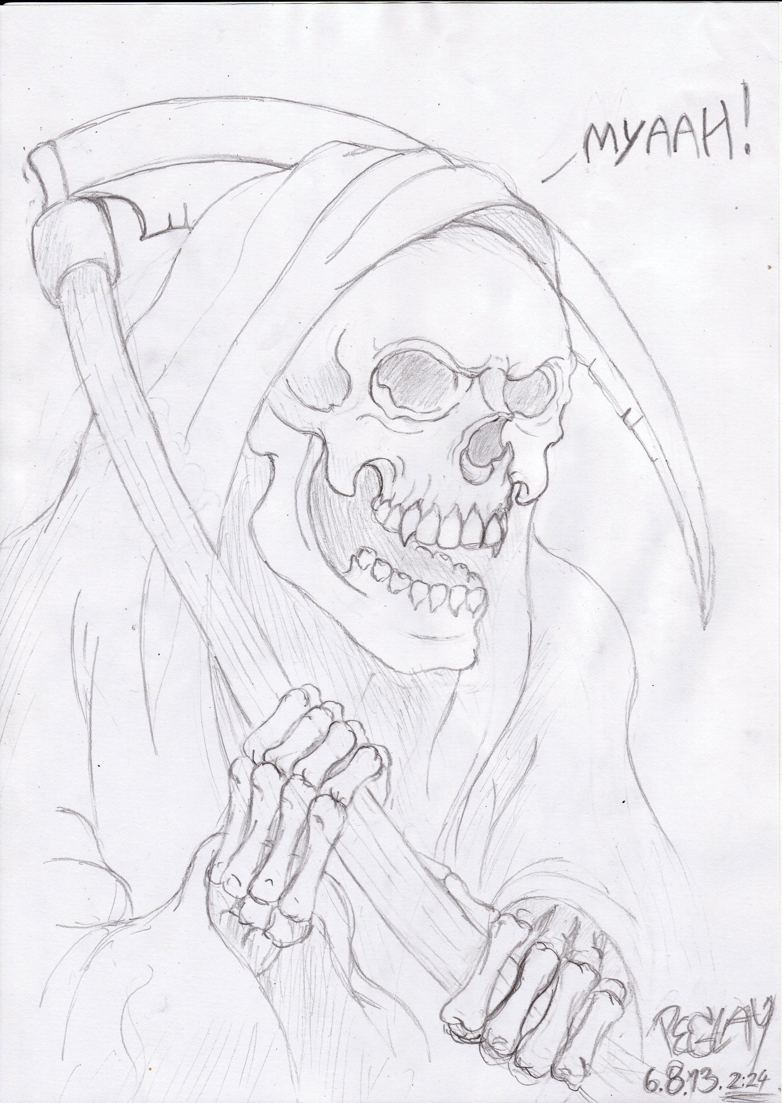 shitty grim reaper