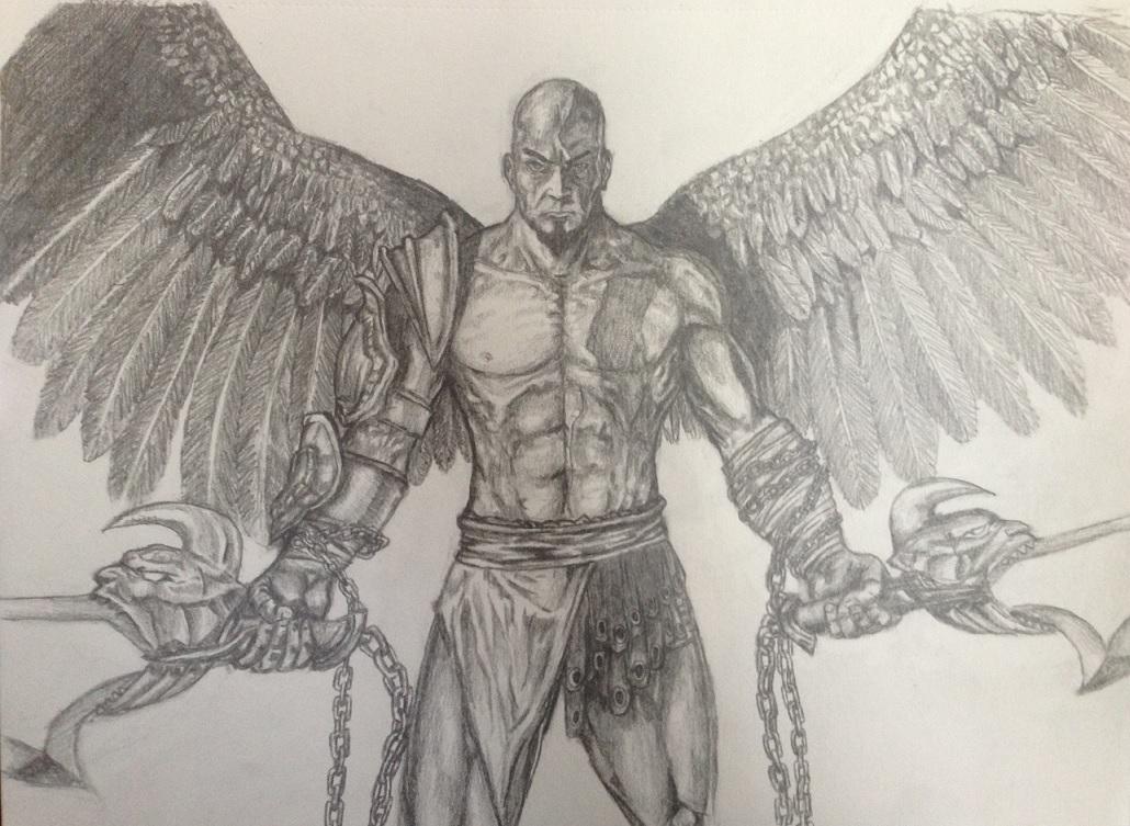 Kratos-God of War Sketch