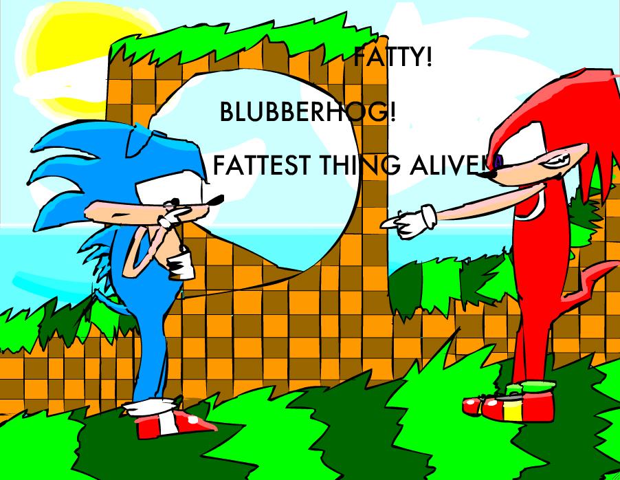 Poor Classic Sonic :(