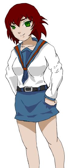 Japanese Highschool girl