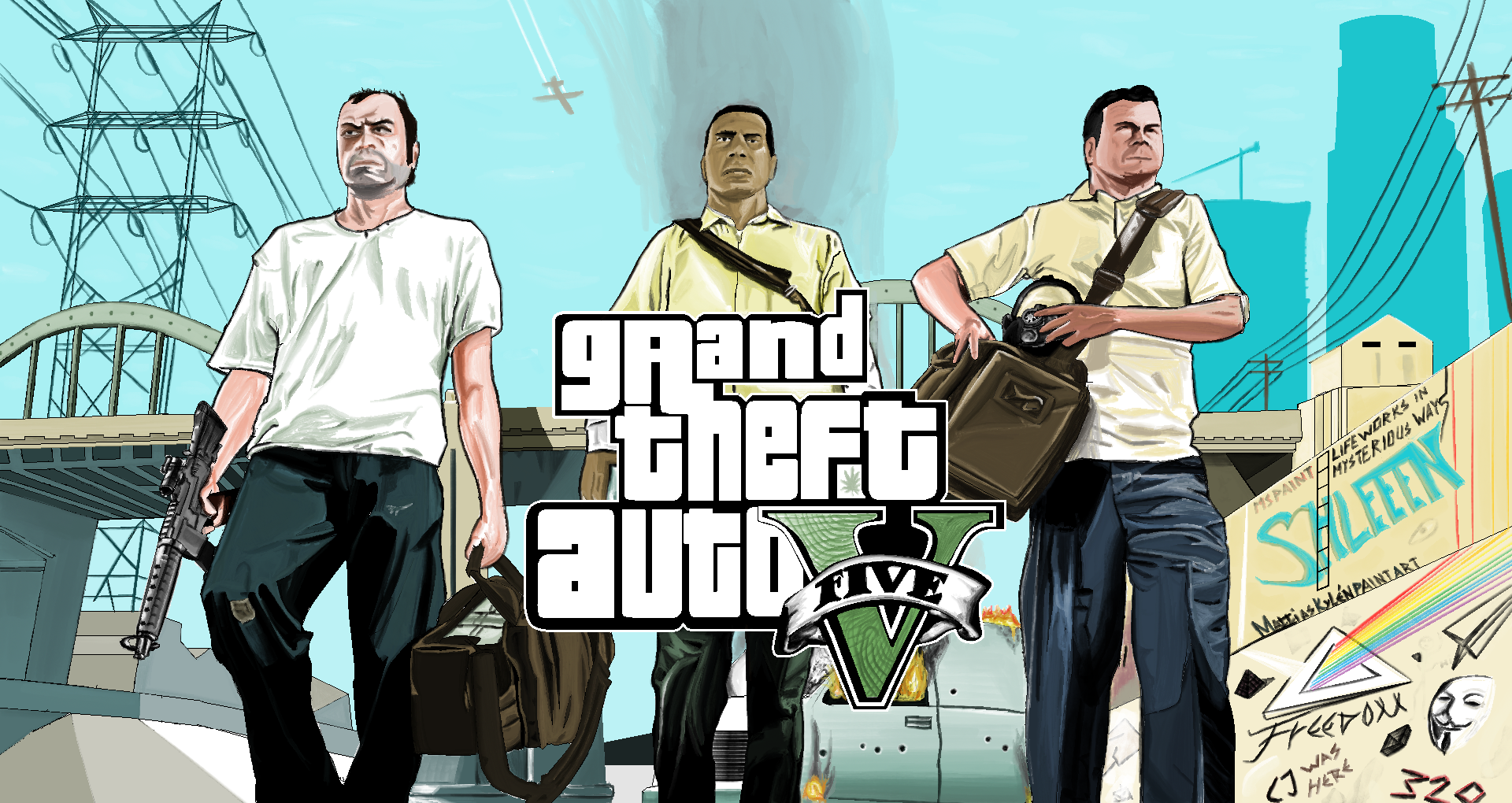 Grand Theft Auto V : Ms Paint