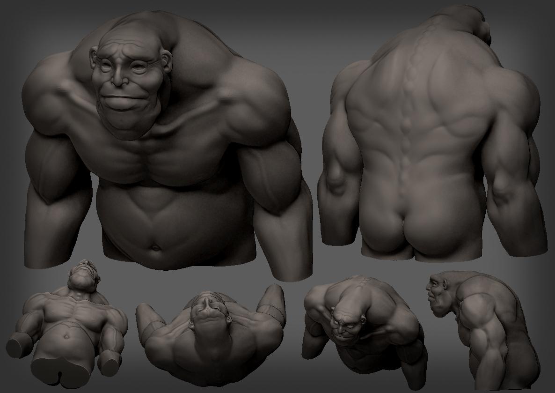 Daniel the sad ogre