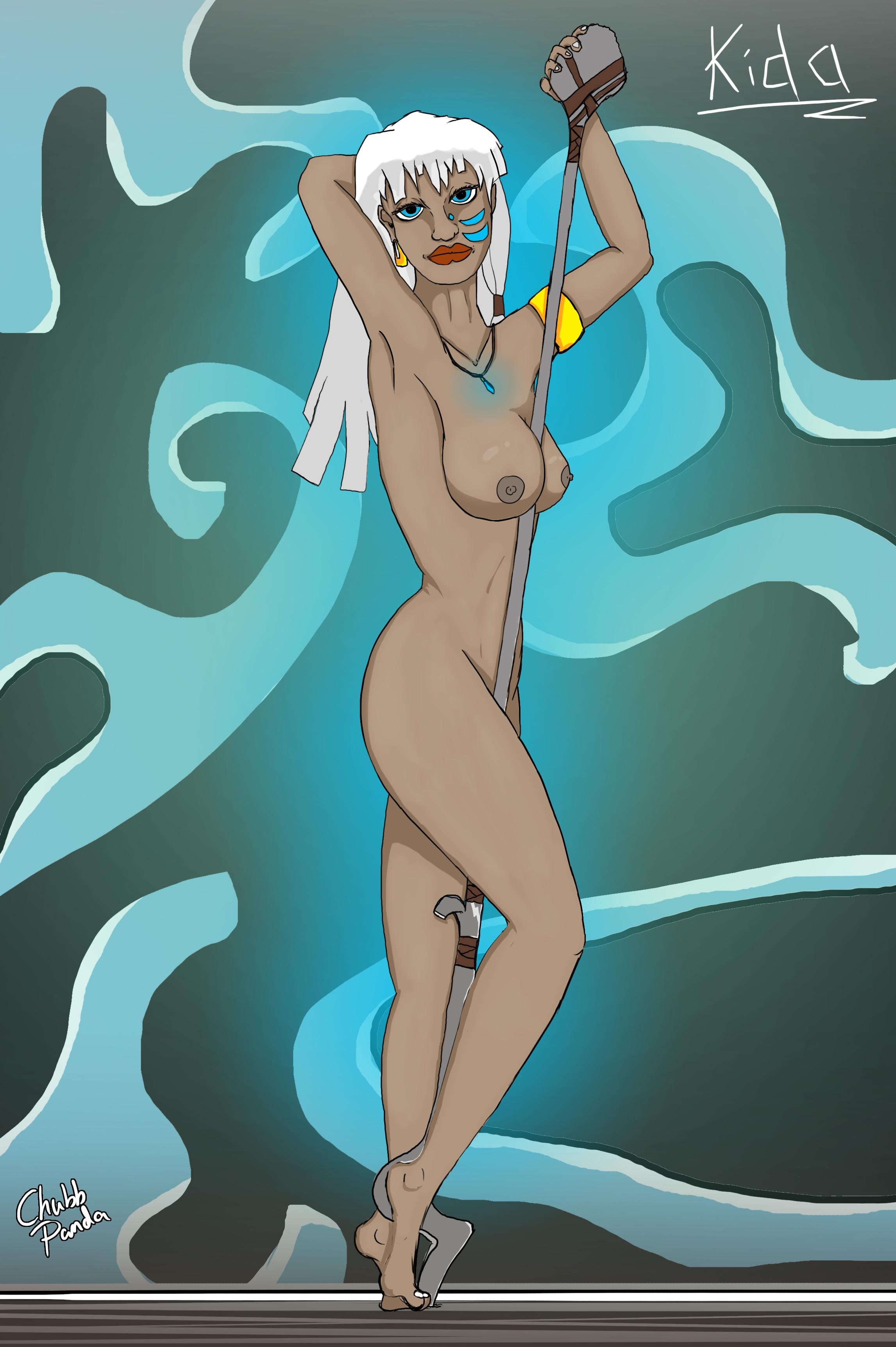 'Kida' from Atlantis!