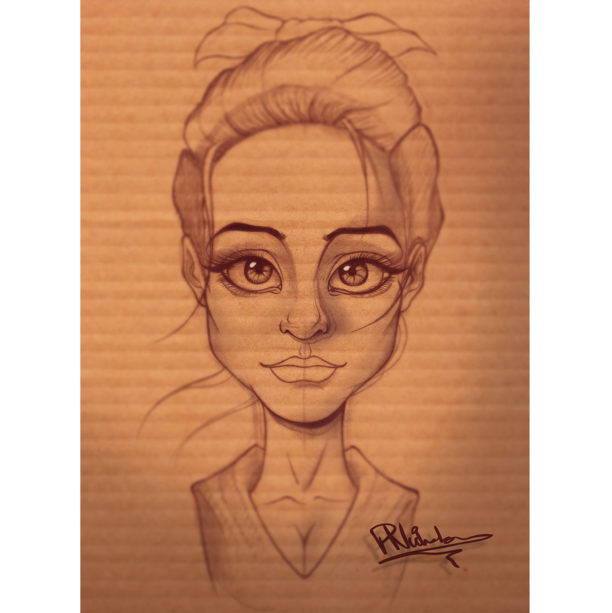 Caricature Sketch-Edit