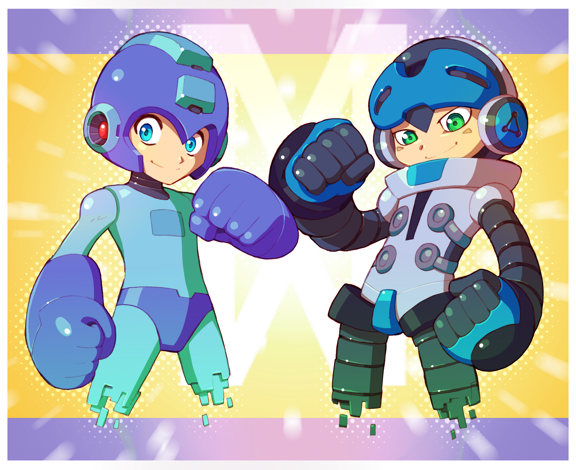 Mighty N.9 - New Blue Bomber
