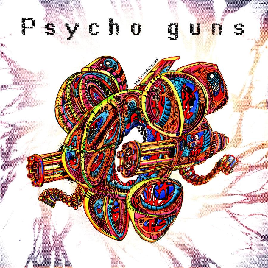 Psycho Guns CD cover