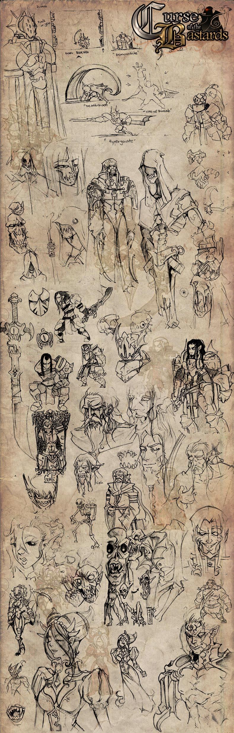 Curse of the Bastards - Sketch