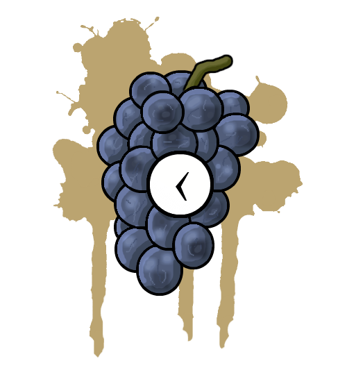 GrapesClock
