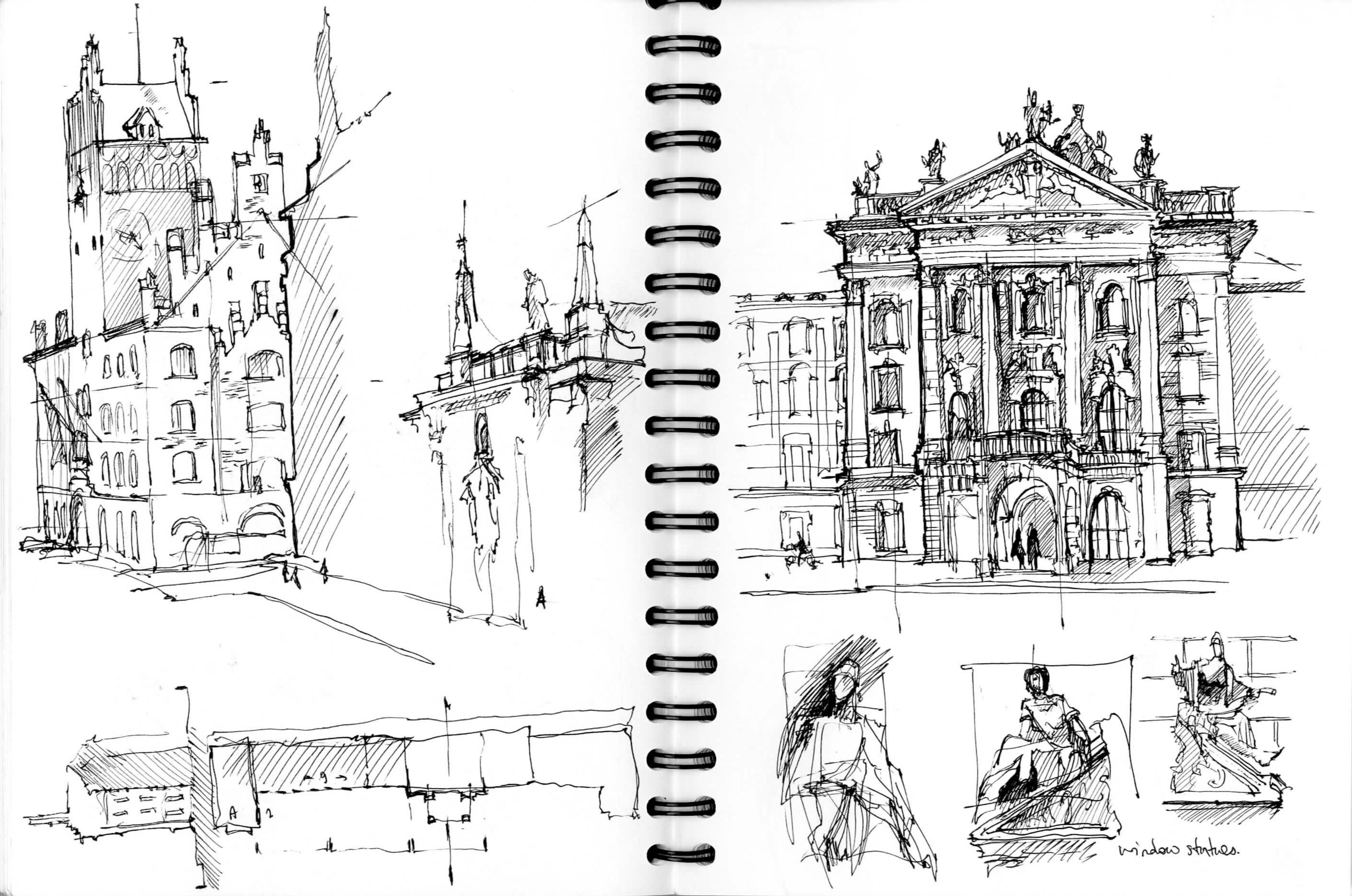 Sketching in Munich