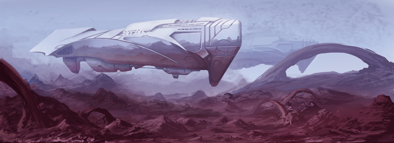 Arriving ships