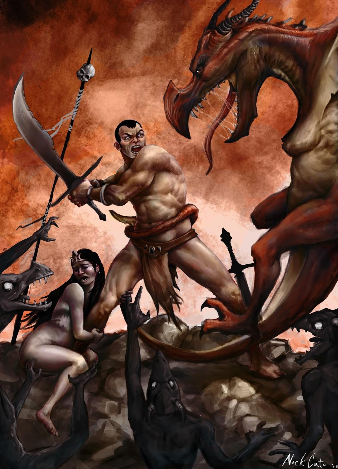the Wyvern Slayer
