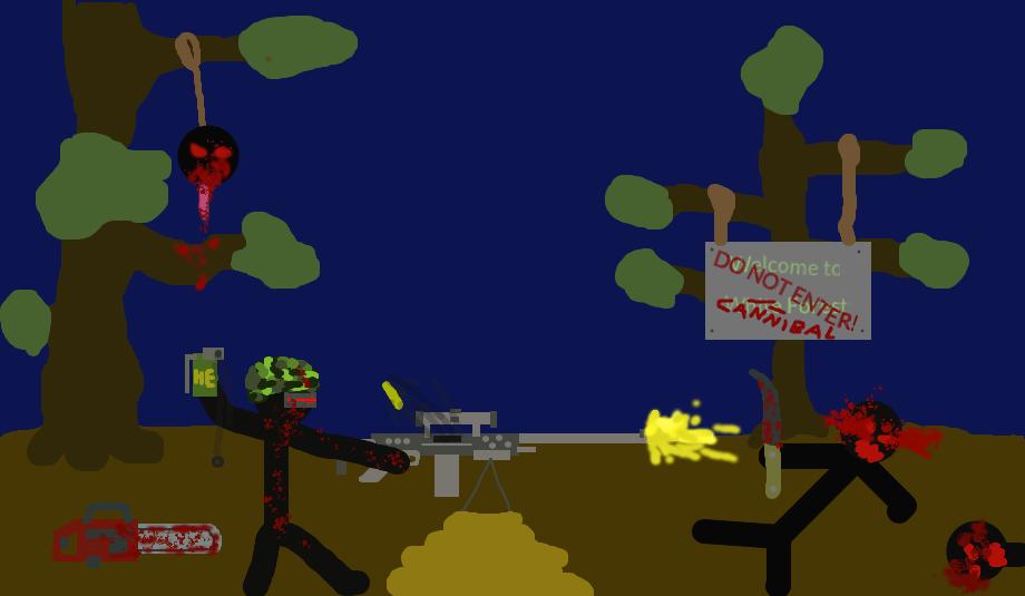 Cannibals: Defend