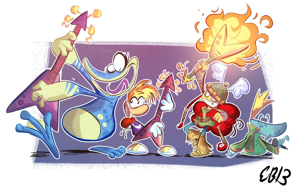 Rayman Legends Fanart