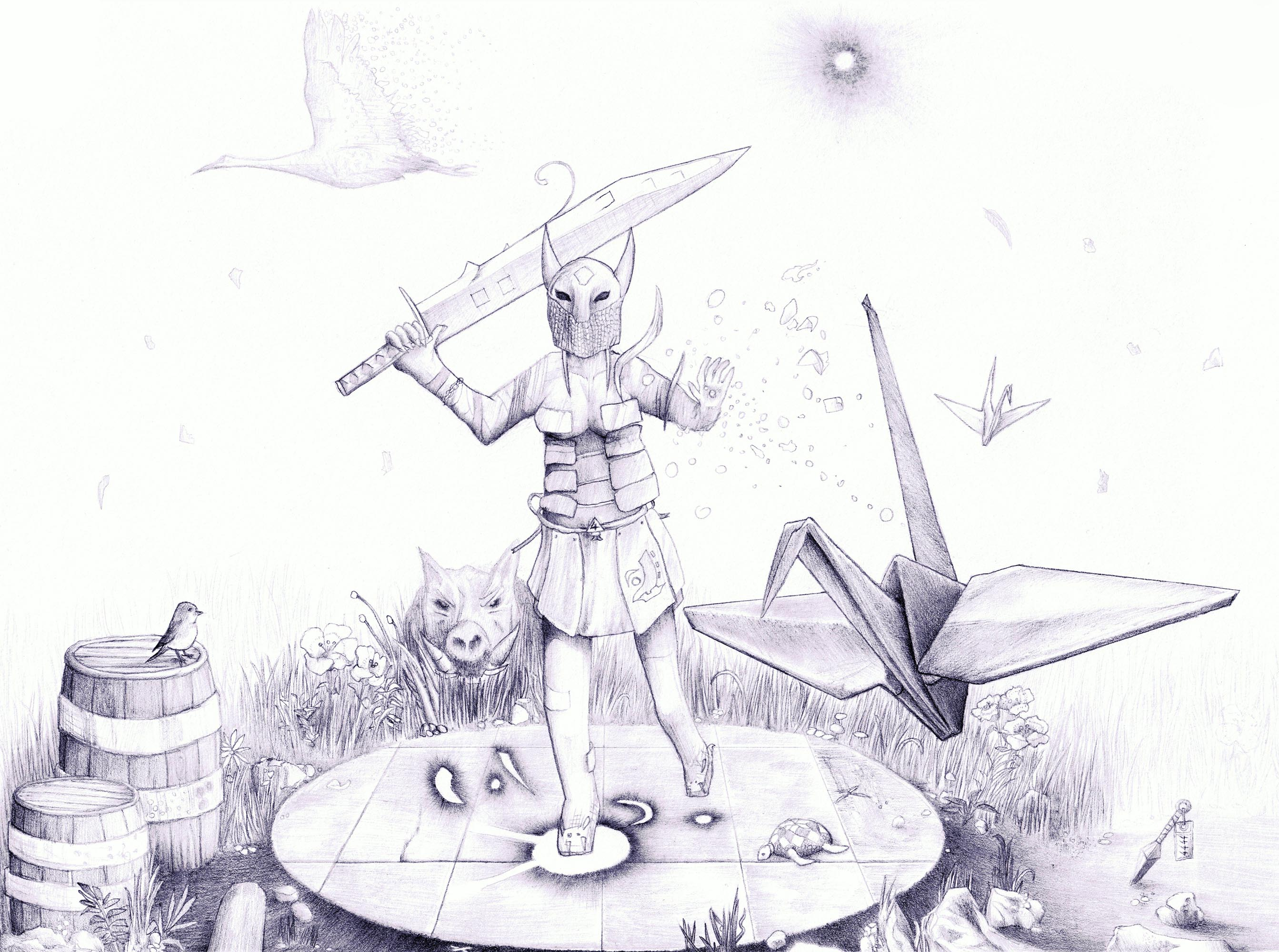 Paper Sword