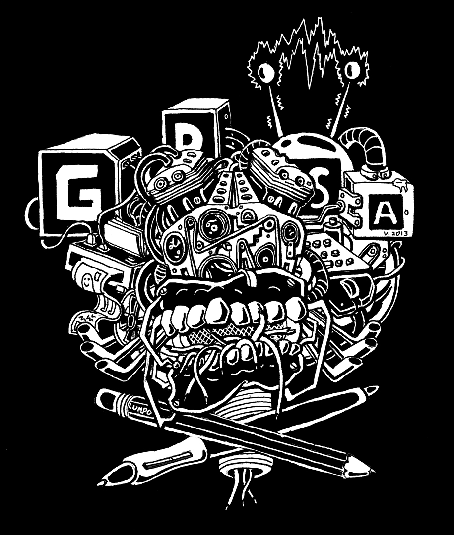 GDSA T-shirt Design