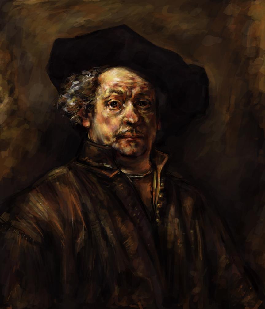 Rembrandt Master Study