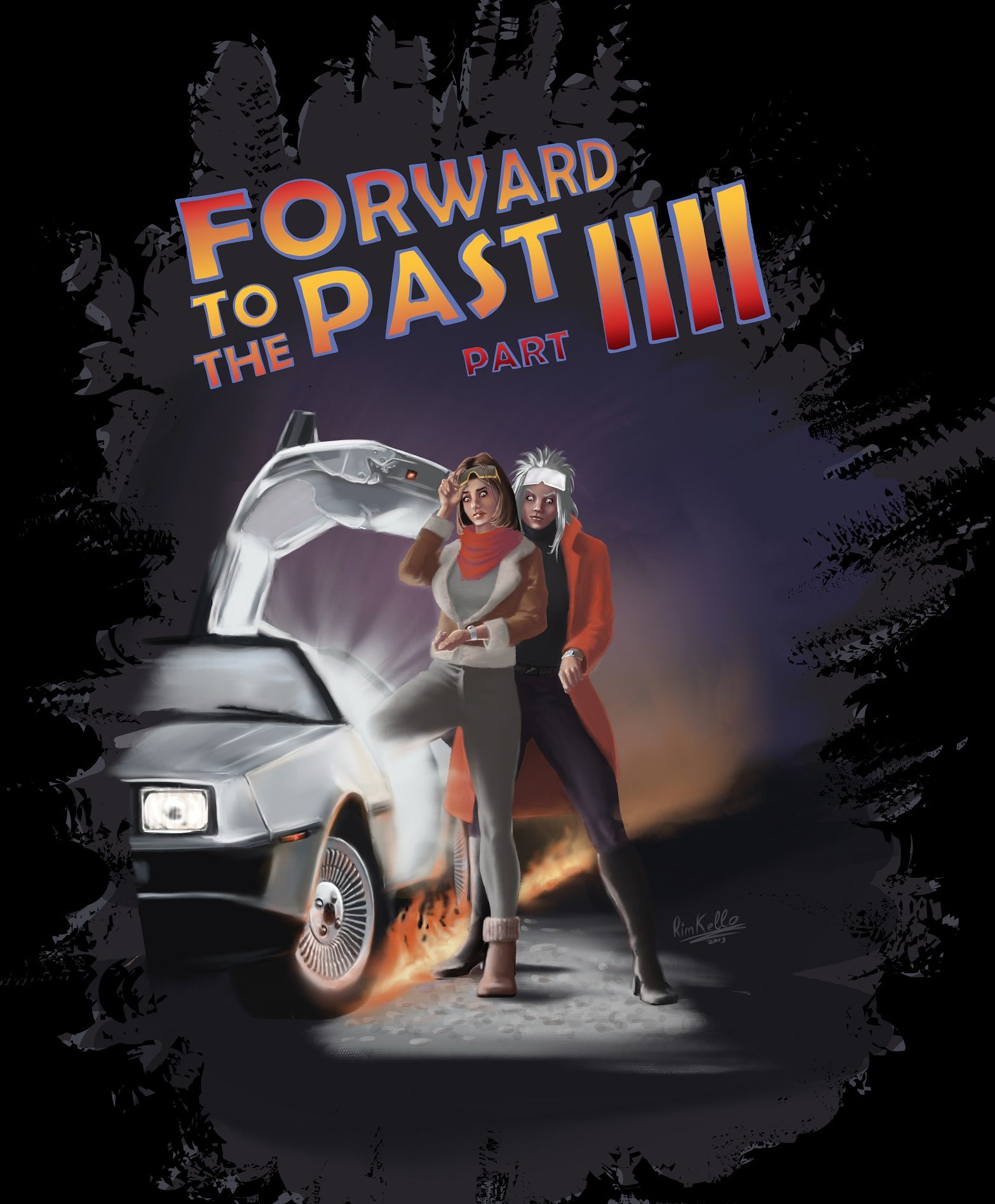 forward to the past 4 (poster)