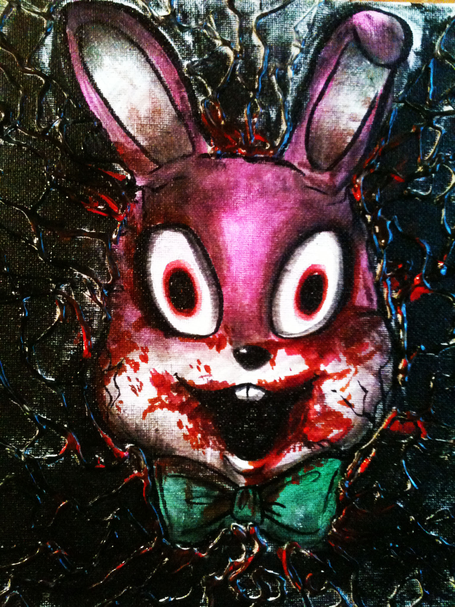 Robbie Rabbit Painting