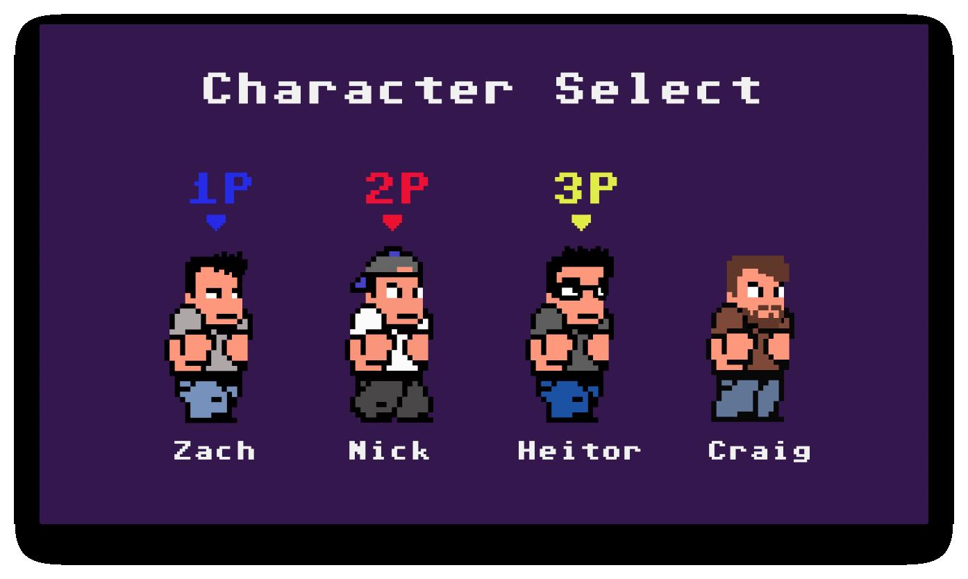 LiS character select