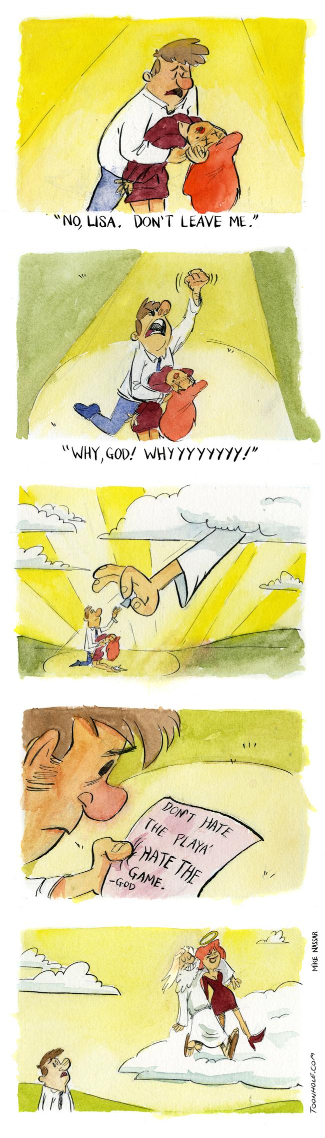 Why God?!