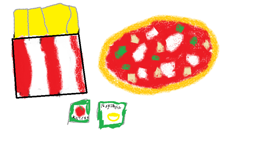 Pizza chips and ... (Paint)