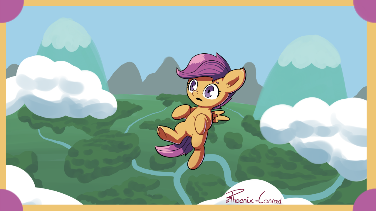 Scootaloo Remembers Something