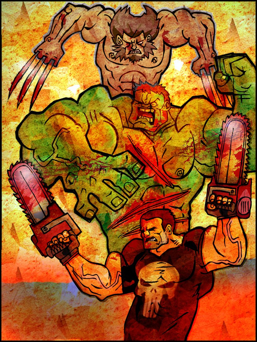 Adamantium Chainsaws