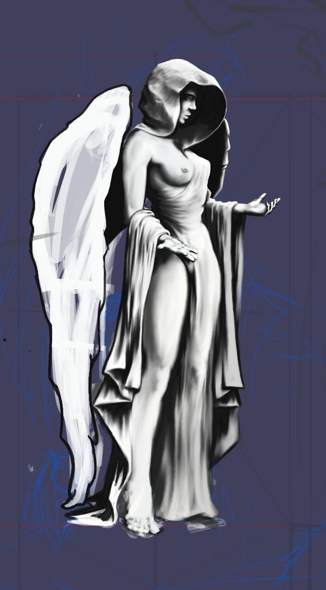 Sculpture of Angel?