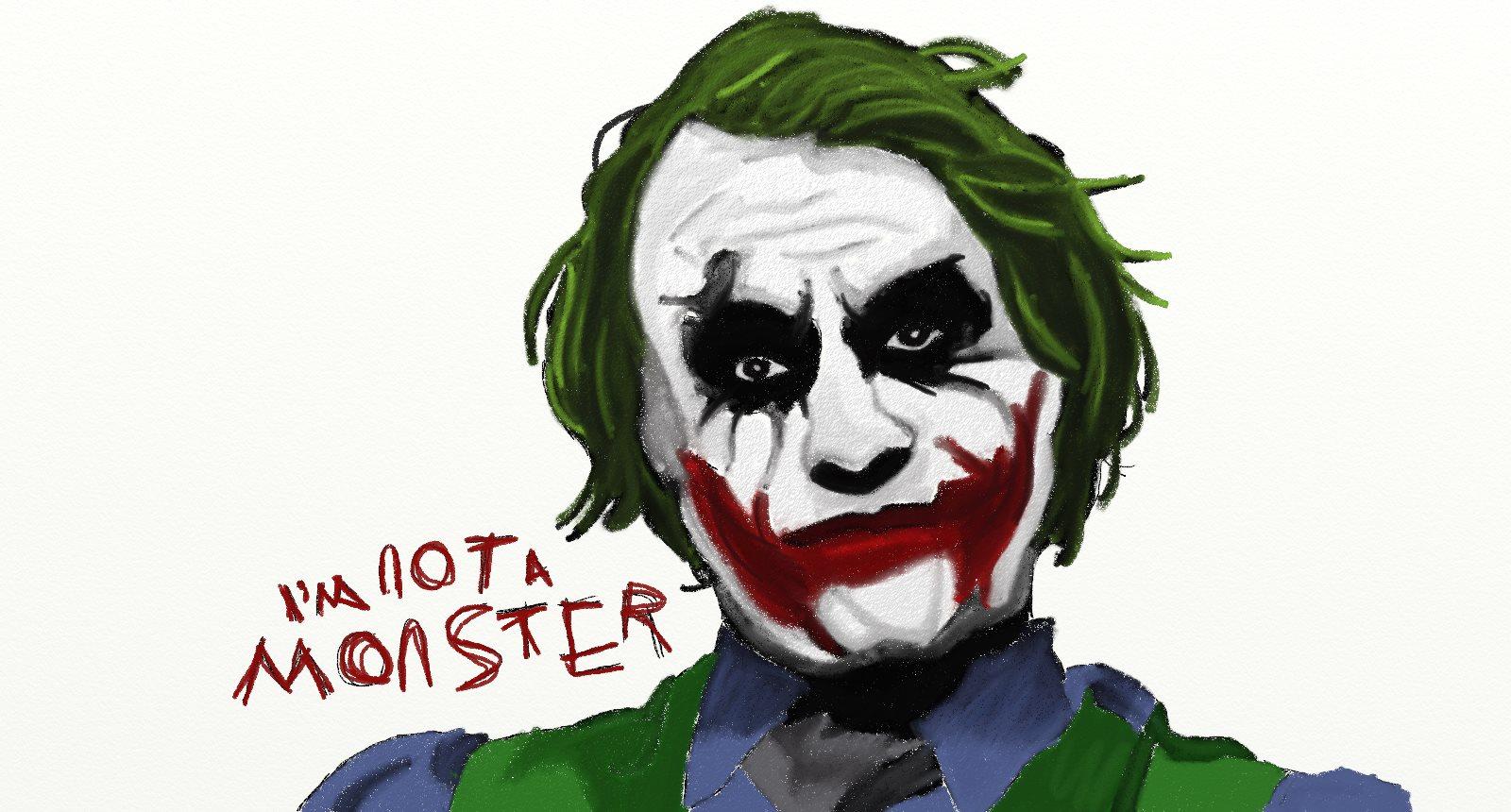 Joker - I'm not a monster