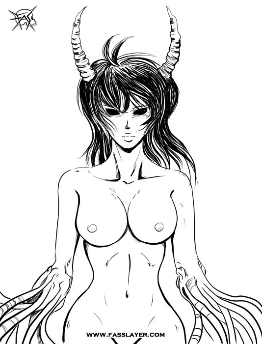 Demon woman
