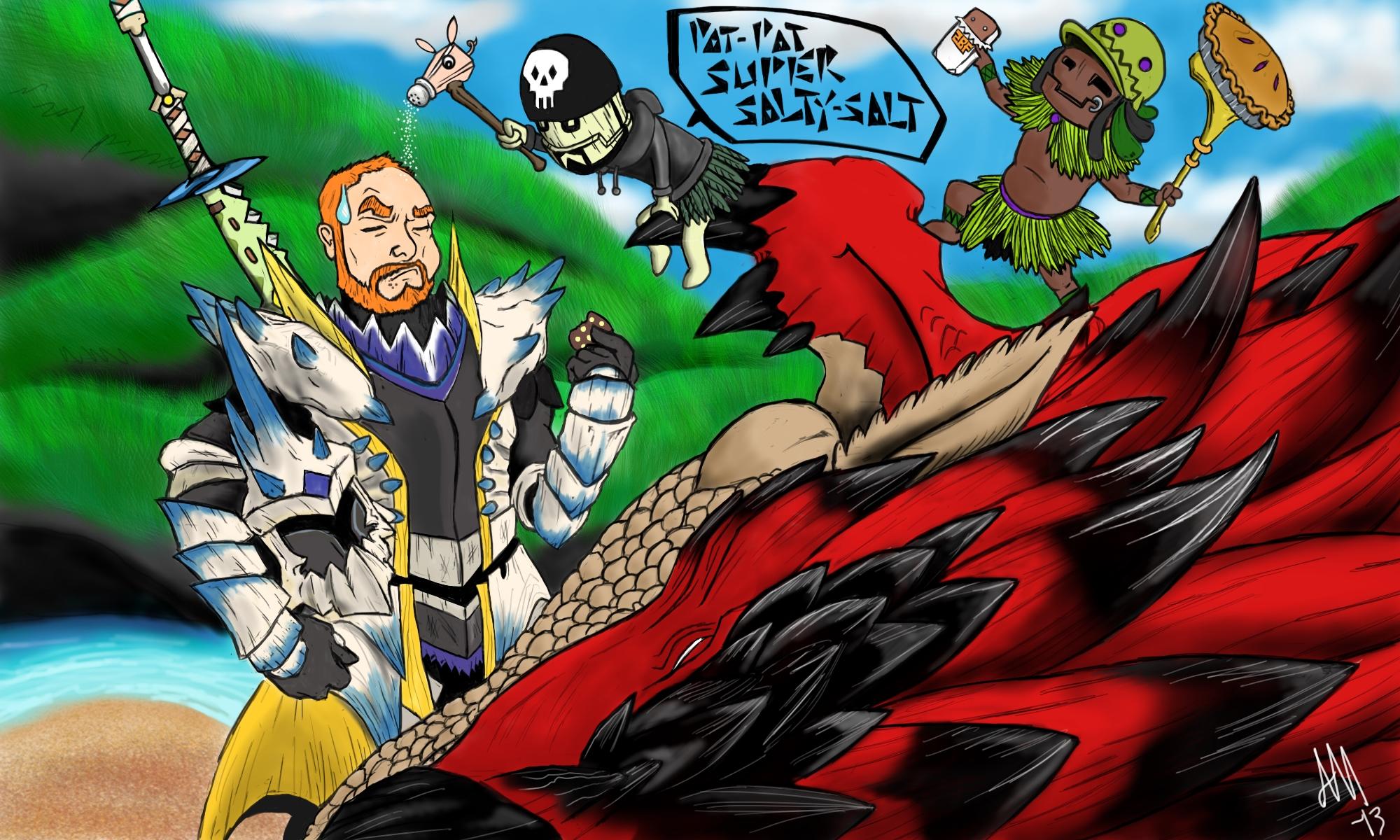 Pat The Monster Hunter