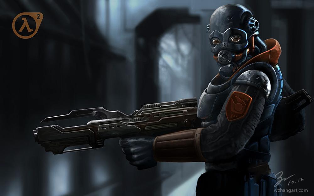 Combine Soldier - Half Life 2