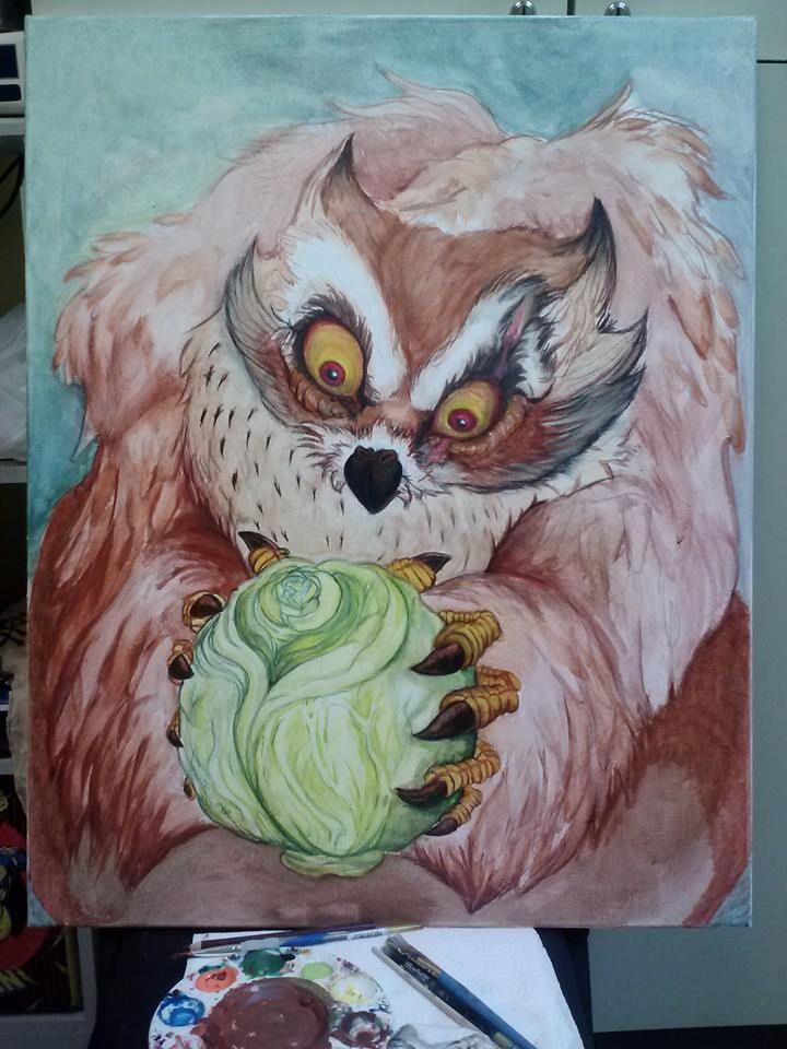 Owlbear and Cabbage