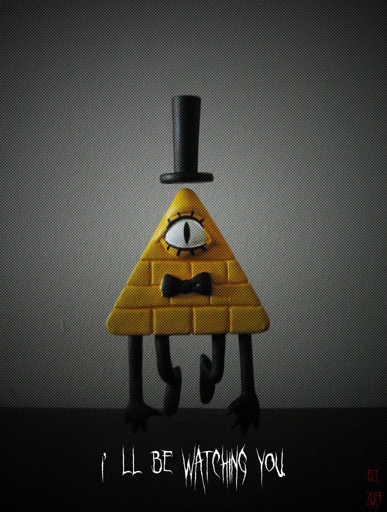 Bill Cipher Sculpture