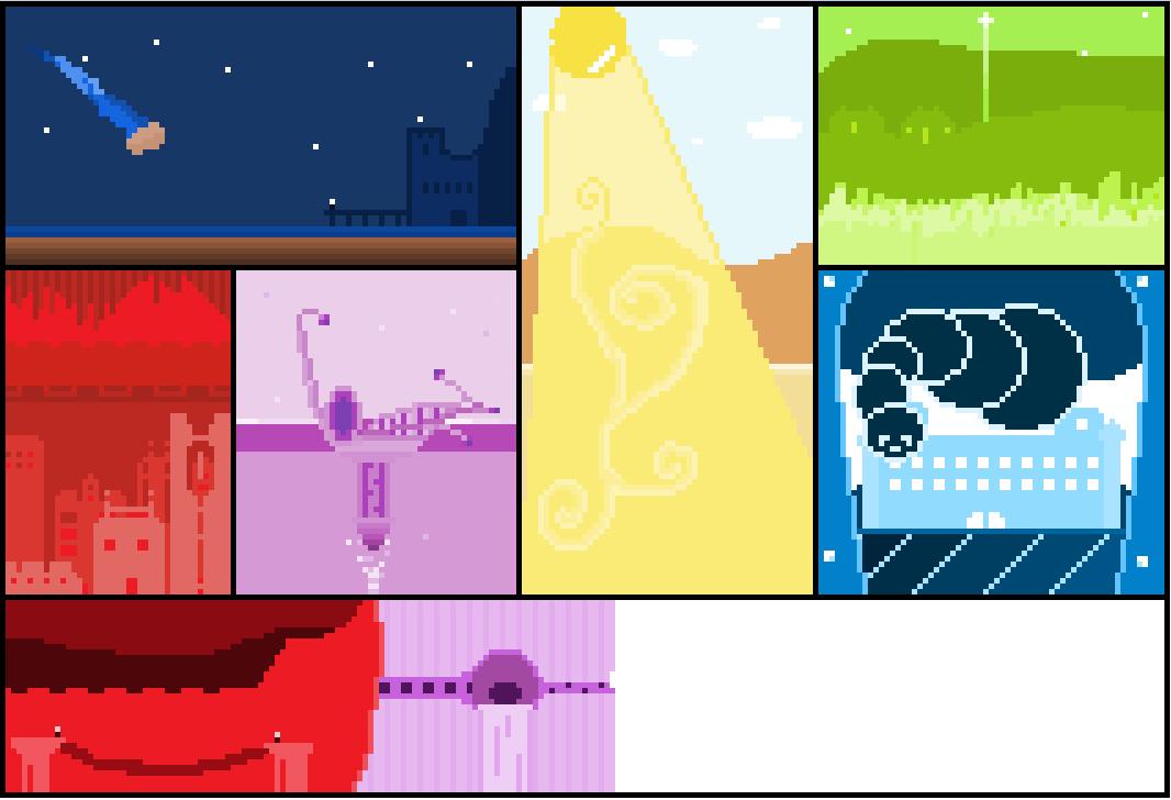 Pixel Comic Design Thing