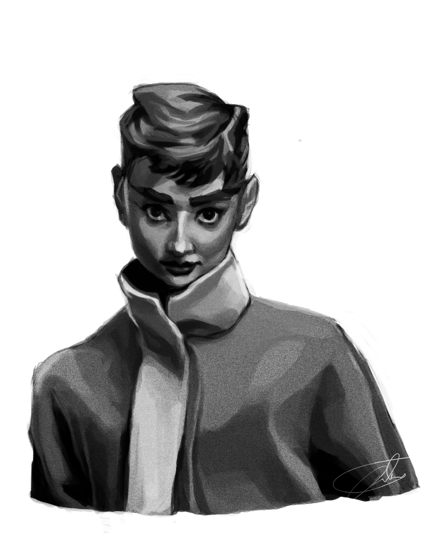 50s nostagia test Audrey