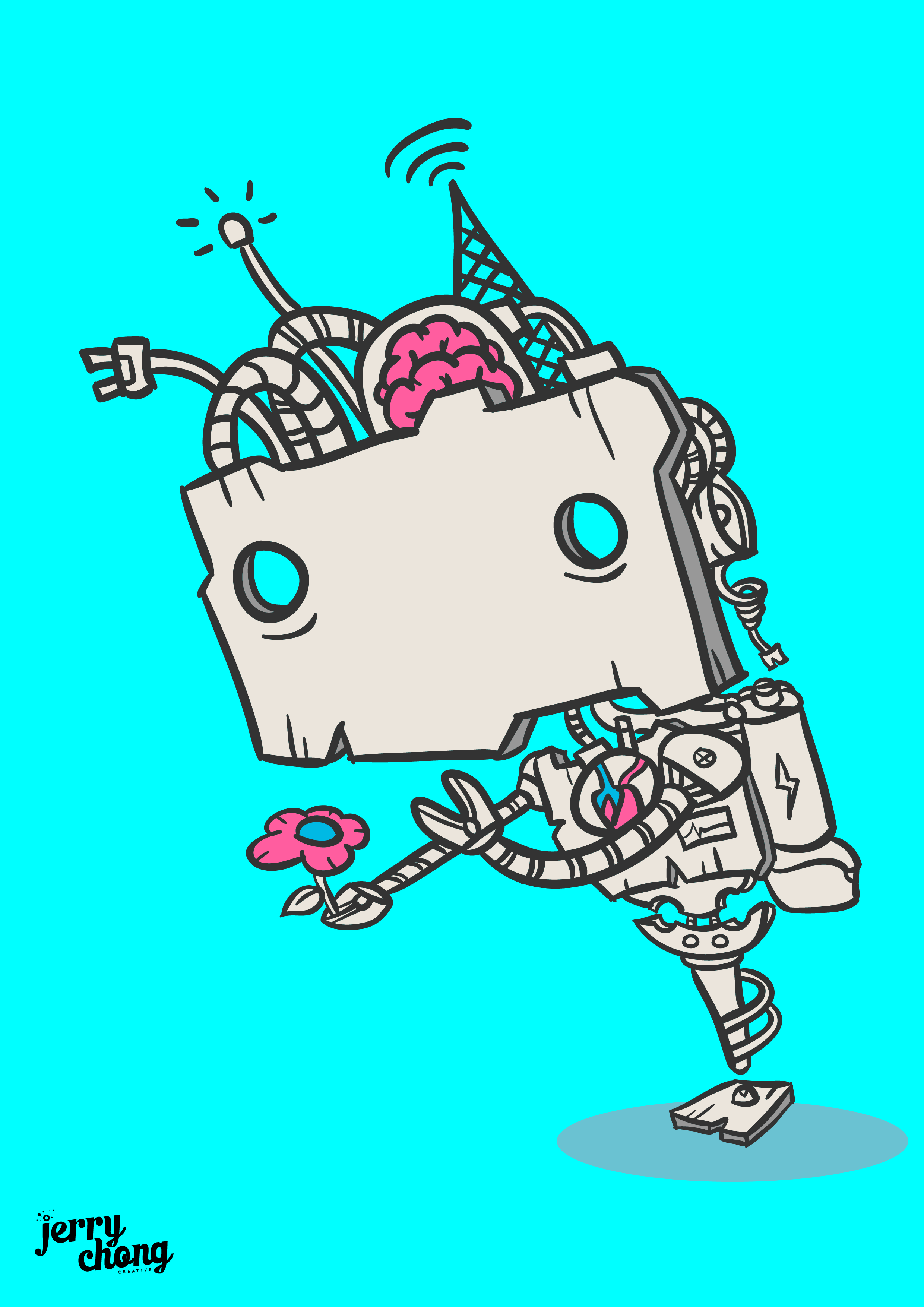 Robot Loves Nature