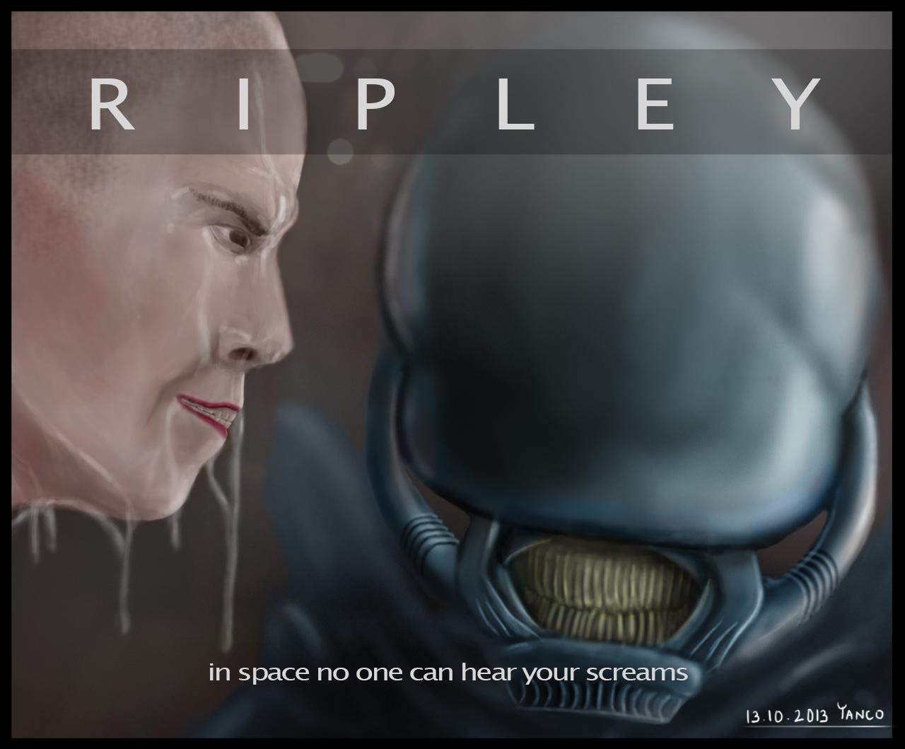 Ripley vs Alien
