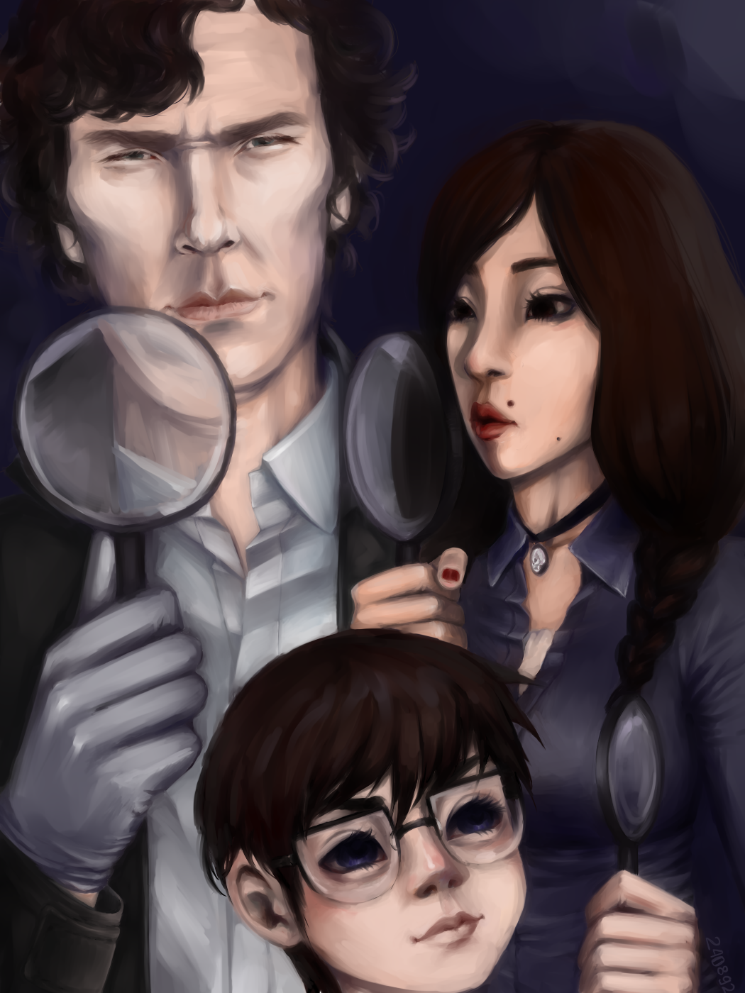 Sherlock, Julia and Conan