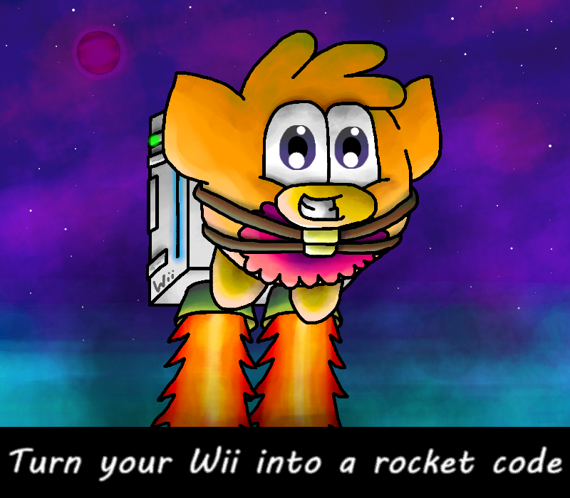 Turn your wii into a rocket