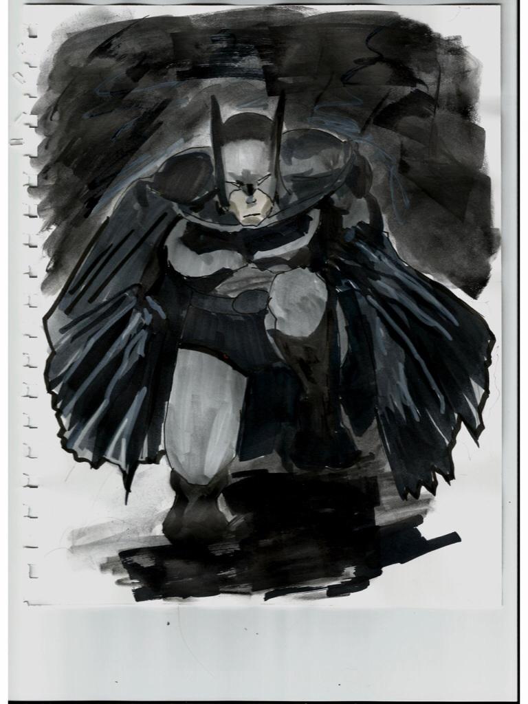 Rough Batman prelim