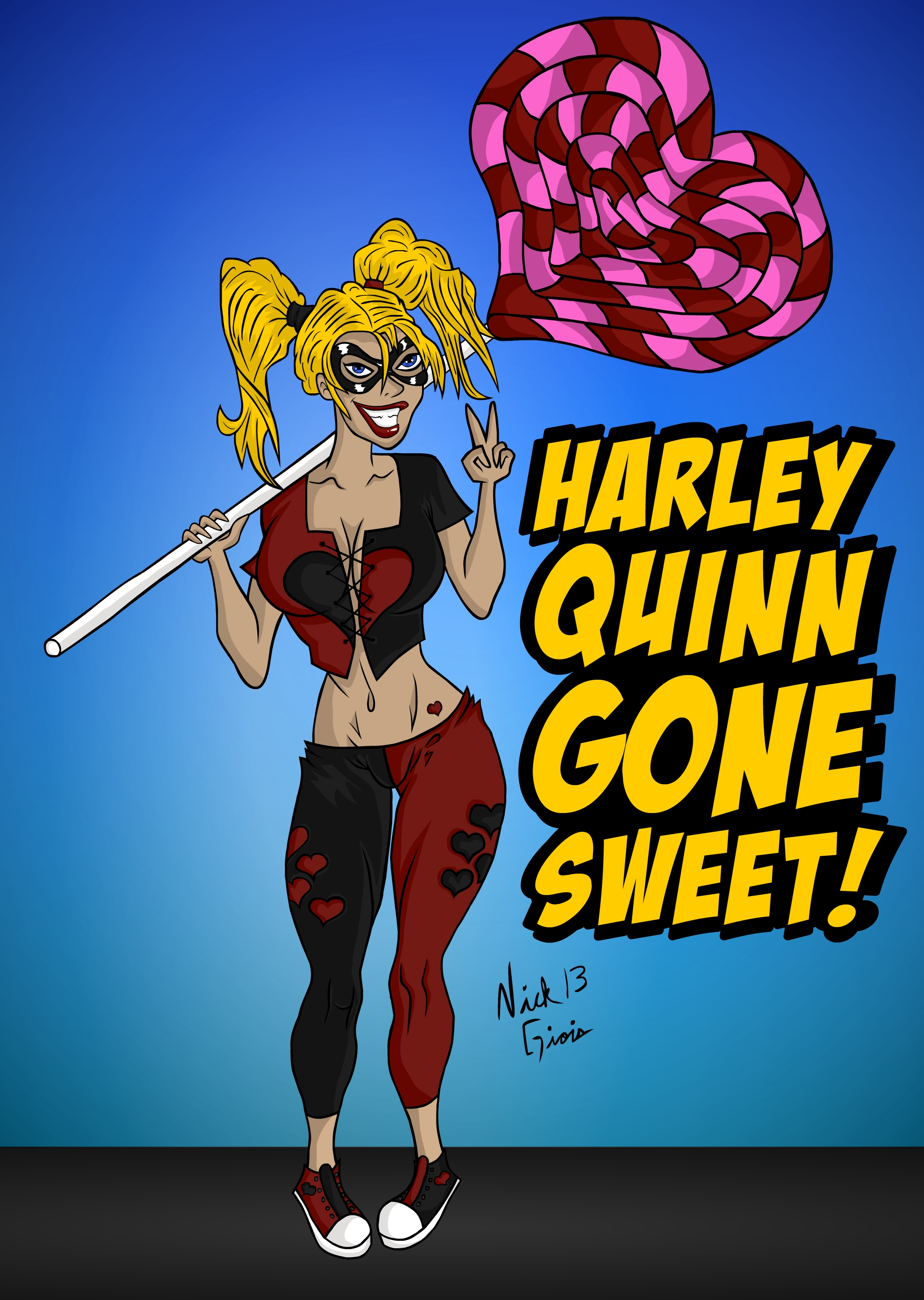 Harley Quinn Gone Sweet!